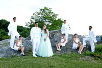 Myles Studio - Sweet 16 portrait at Longview Park in Poughkeepsie.