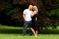 Engagement portrait at Vanderbilt Mansion, Hyde Park NY
