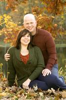 Engagement Portrait - Cluett Schantz Memorial Park -  in Autumn