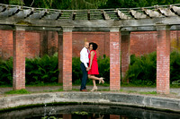 Vanderbilt Mansion - spring engagement shoot.