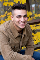 Boy's Senior Portrait - New Paltz Rail Trail