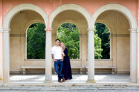 Vanderbilt Mansion - Summer Engagement Portrait